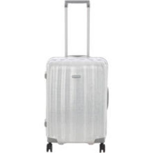 Aluminium Silver Lite Cube Spinner Suitcase offer at £199.99
