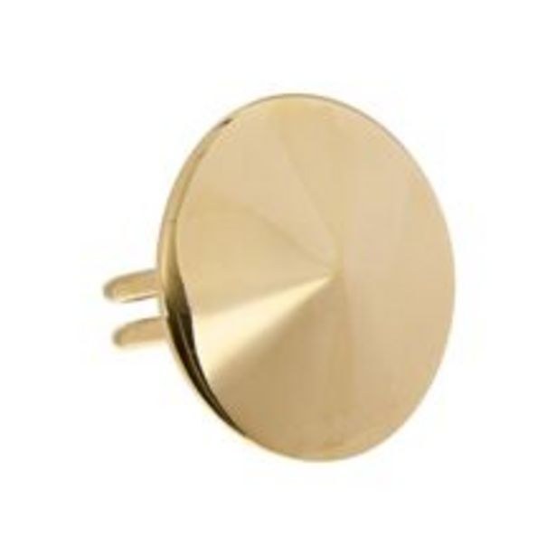 Gold Tone Convex Ring offer at £10