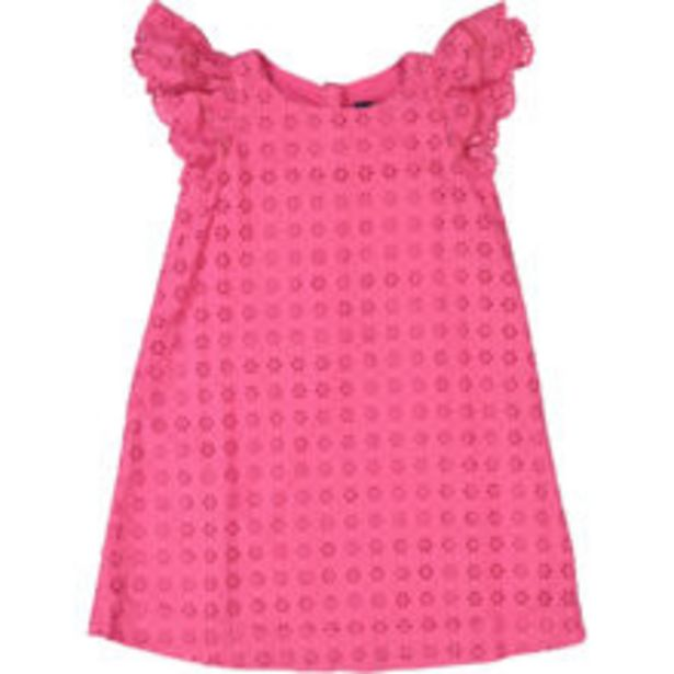 Pink Broderie Shift Dress offer at £19.99