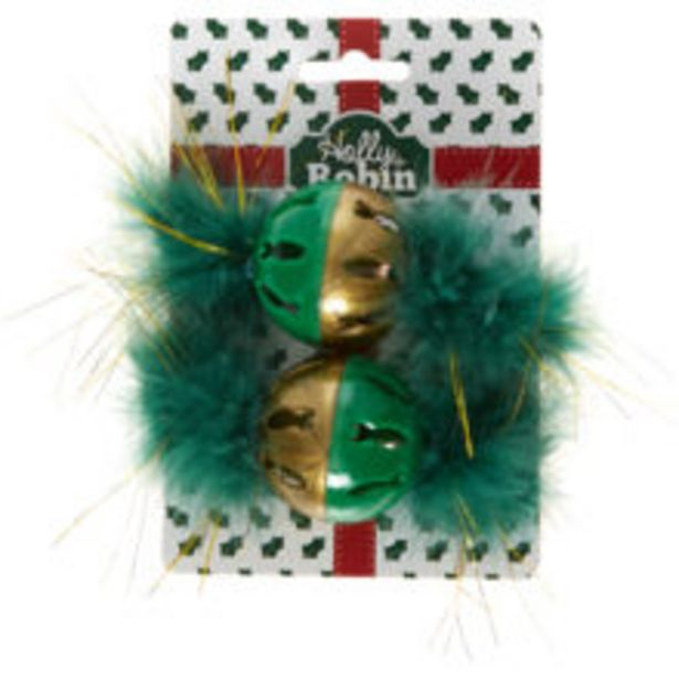 Green Festive Cat Toys offer at £2.49