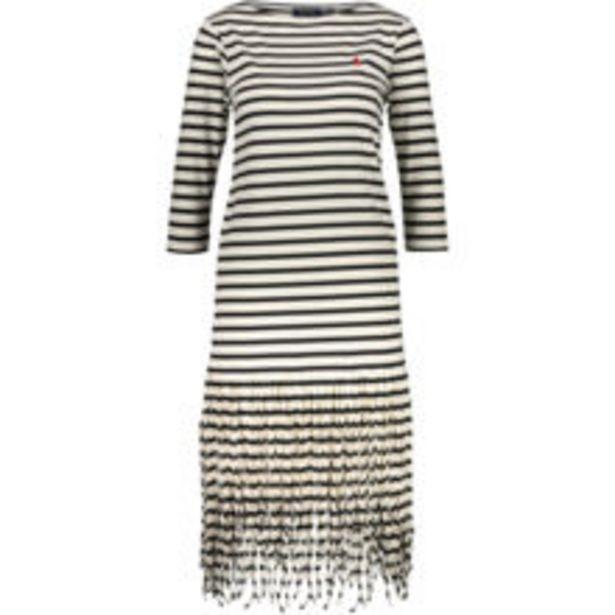White & Black Striped Midi Dress offer at £49.99