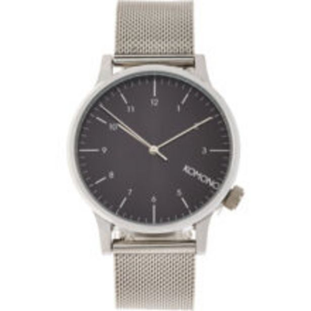 Silver Tone Chainmail Watch offer at £16.99
