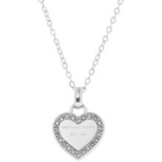 Silver Tone Heart Necklace offer at £34.99