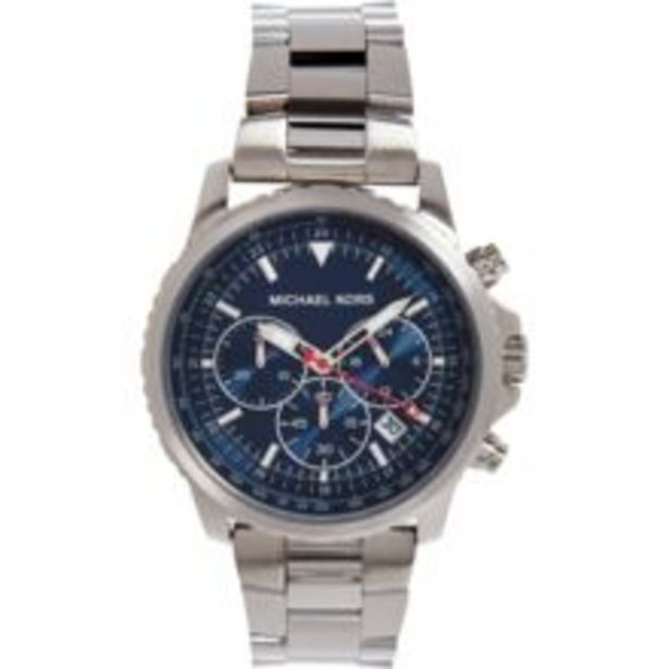 Silver Tone Chronograph Watch offer at £79.99