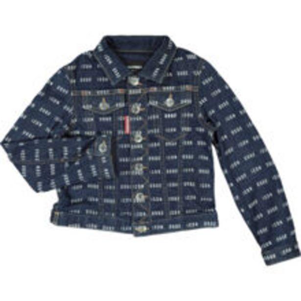 Navy Repeat Logo Denim Jacket offer at £59.99
