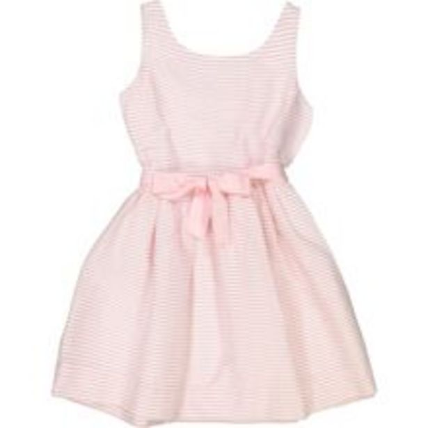 Pink & White Striped Dress offer at £24.99