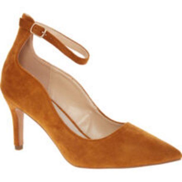 Tan Velvet Court Shoes offer at £14