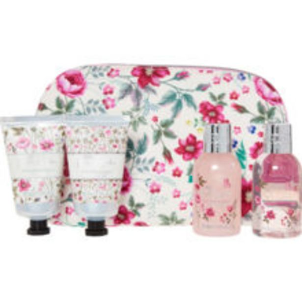 White Royale Garden Toiletry Bag offer at £7.99