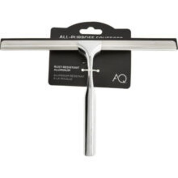 Silver Tone All Purpose Squeegee offer at £7.99