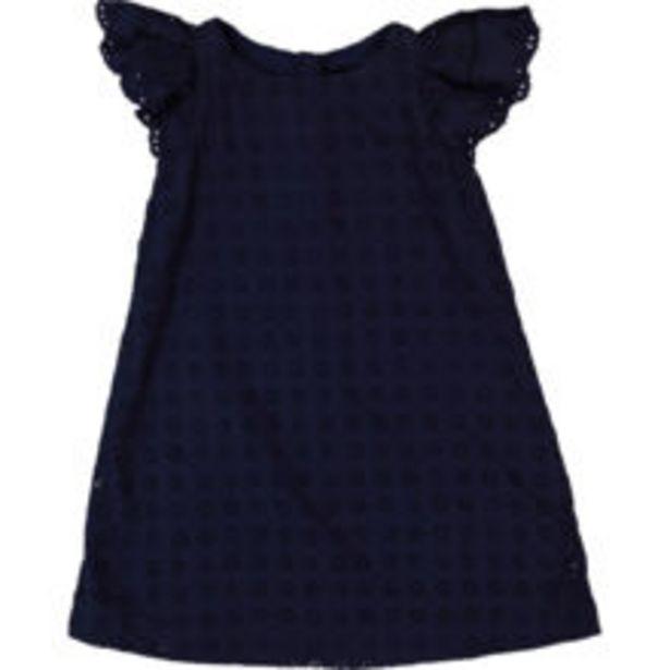 Navy Broderie Shift Dress offer at £19.99
