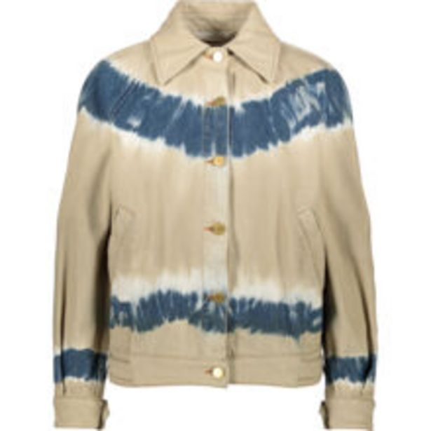 Cream & Blue Denim Jacket offer at £229.99