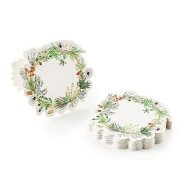 12 Lakeland Evergreen Traditional Christmas Place Cards  offer at £1.99