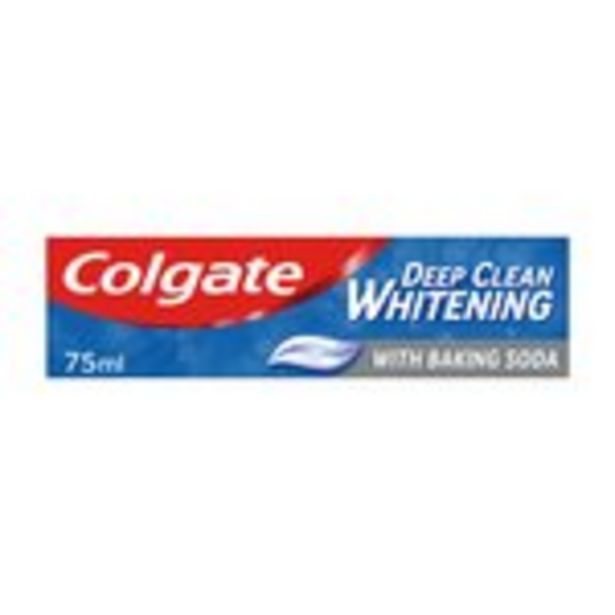 Colgate Sensation Deep Clean White Toothpaste  offer at £1