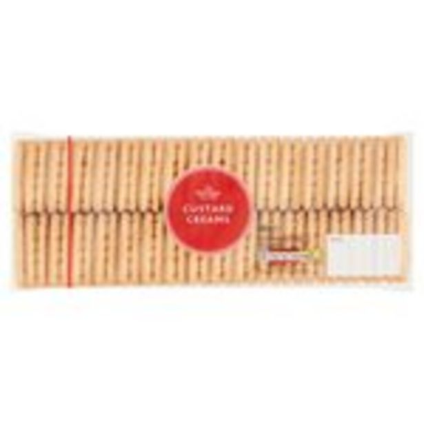 Morrisons Custard Creams offer at £0.39