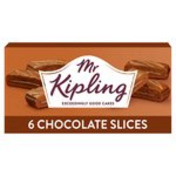 Mr Kipling Chocolate Slices offer at £1.8