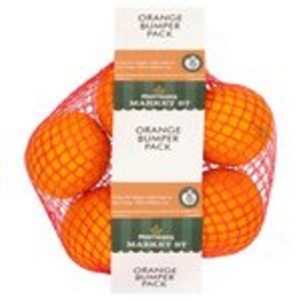 Morrisons Orange Bumper Pack offer at £0.99