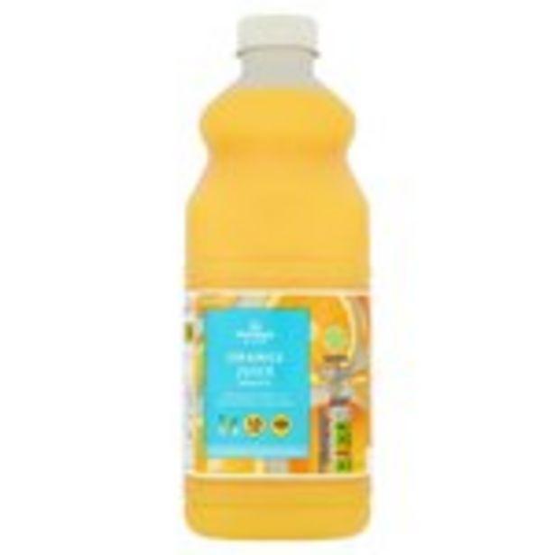 Morrisons 100%  Smooth Orange Fruit Juice  offer at £1.45