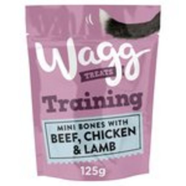Wagg Training Treats with Chicken, Beef and Lamb offer at £1