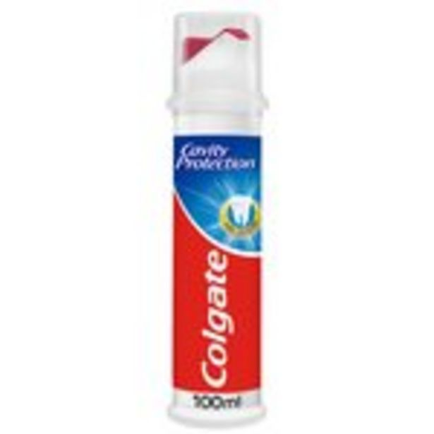 Colgate Cavity Protection Toothpaste Pump  offer at £1.75