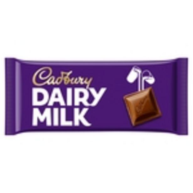 Cadbury Dairy Milk Chocolate Bar offer at £1.5