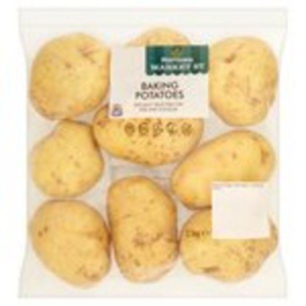 Morrisons Baking Potatoes offer at £1.25