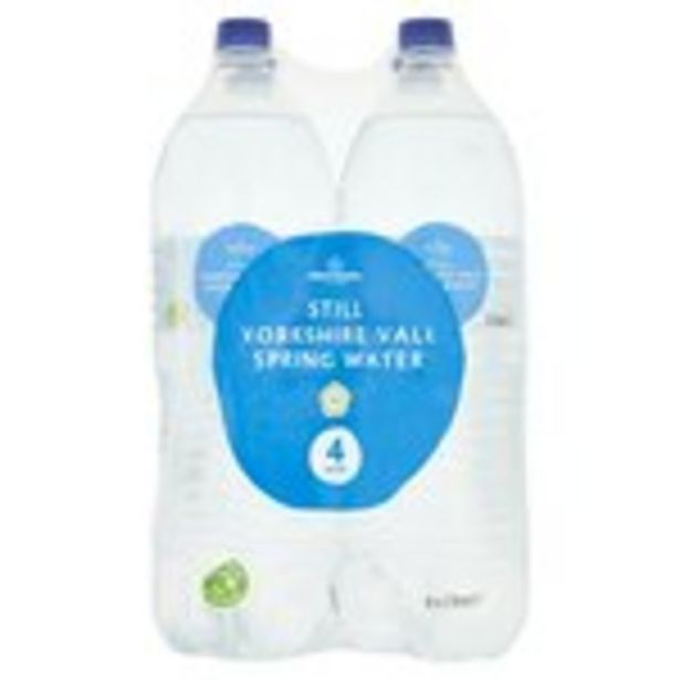 Morrisons Still Spring Water offer at £1.25