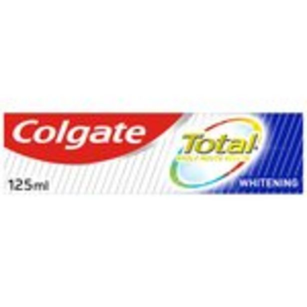Colgate Total Advance Whitening Toothpaste offer at £2