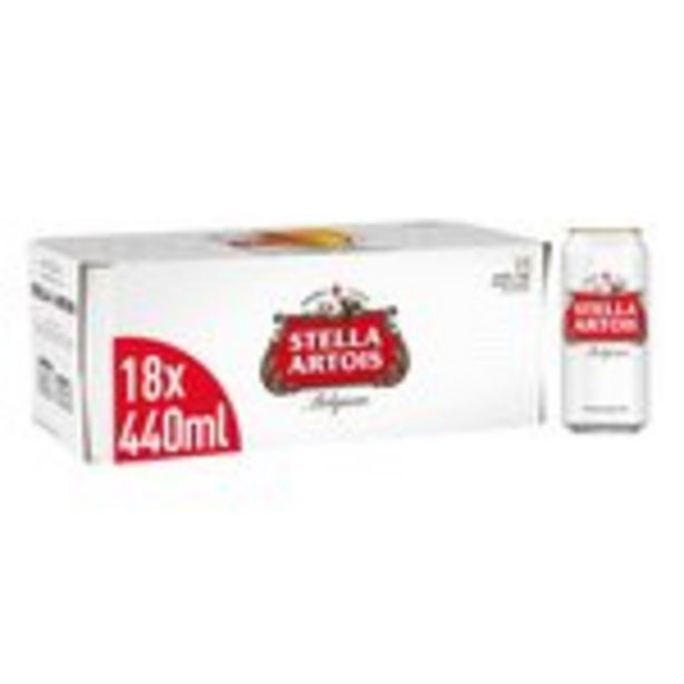 Stella Artois Premium Lager Beer Cans offer at £16