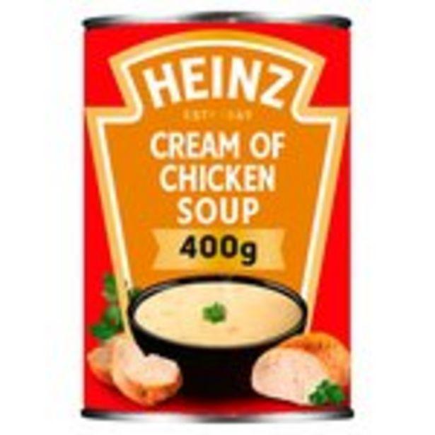 Heinz Cream of Chicken Soup offer at £1