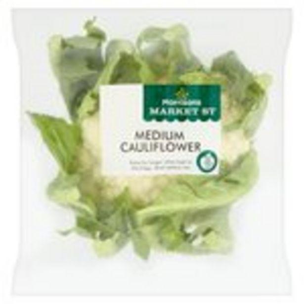 Morrisons Medium Cauliflower  offer at £0.79