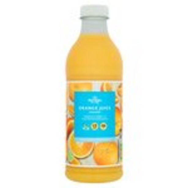 Morrisons 100% Fruit Smooth Orange Juice offer at £0.99