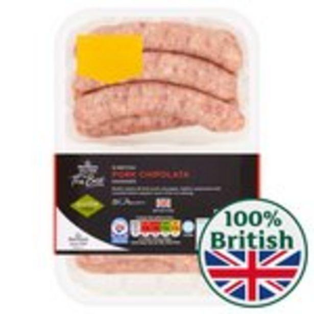 Morrisons The Best Pork Chipolatas 12 Pack offer at £2.75