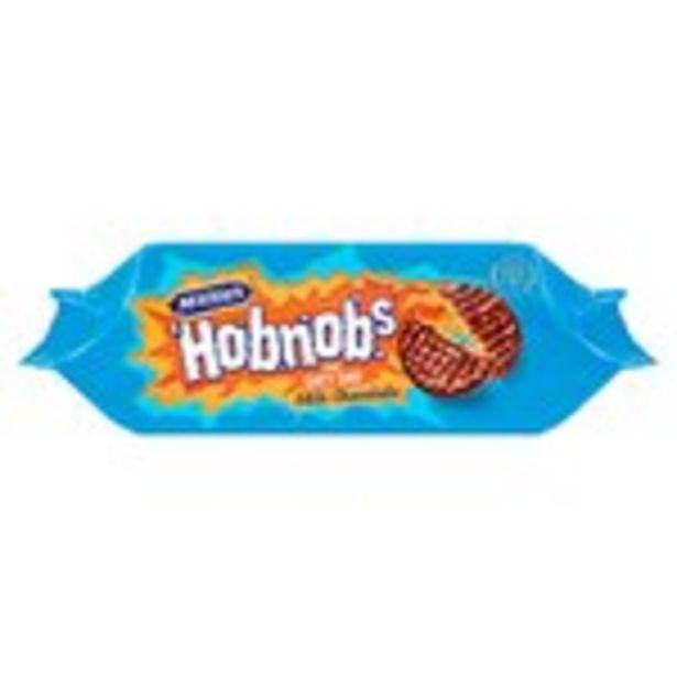 McVitie's Milk Chocolate HobNobs offer at £1