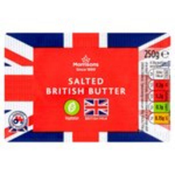 Morrisons British Salted Butter offer at £1.49