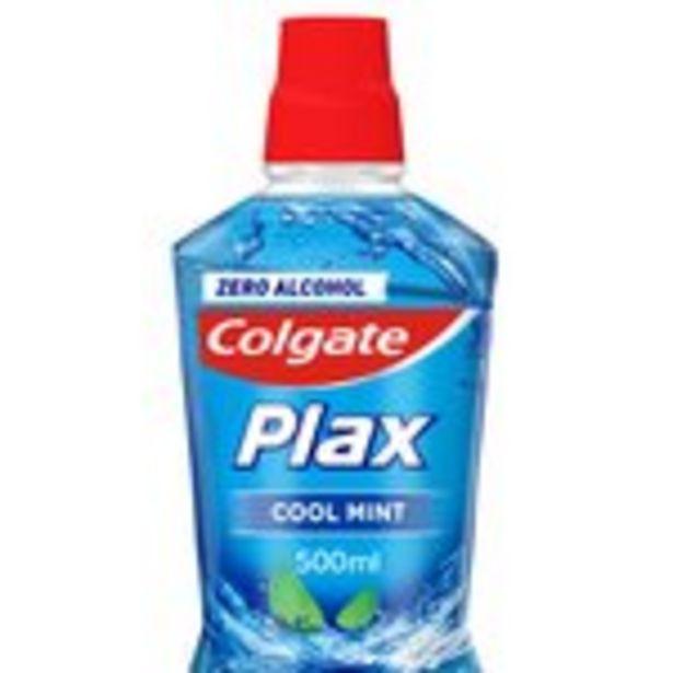 Colgate Plax Cool Mint Mouthwash  offer at £2