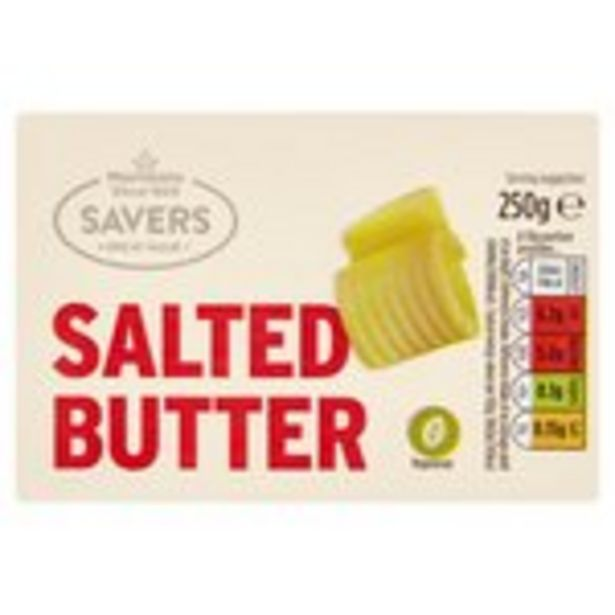 Morrisons Savers Salted Butter offer at £1.45