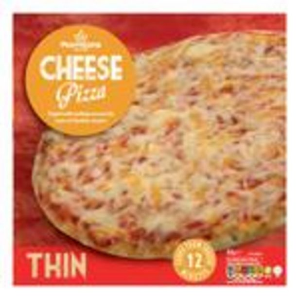 Morrison Thin Cheese Pizza offer at £0.69