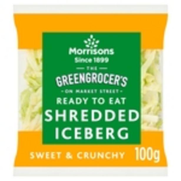 Morrisons Shredded Lettuce  offer at £0.29