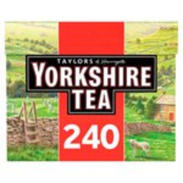 Taylors of Harrogate Yorkshire Tea 240 Tea Bags offer at £5