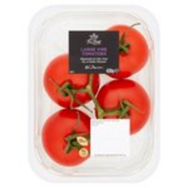 Morrisons The Best Large Vine Tomatoes offer at £1.29