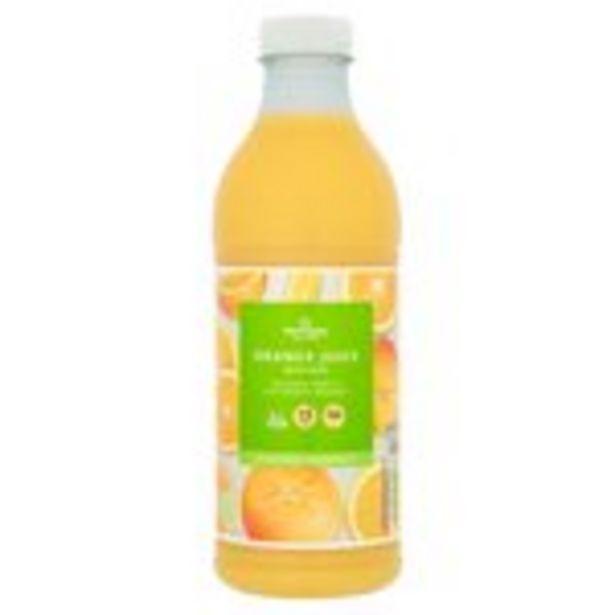 Morrisons 100% Orange Juice with Bits offer at £0.99