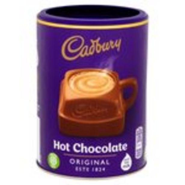 Cadbury Drinking Chocolate Hot Chocolate Tub offer at £2.5