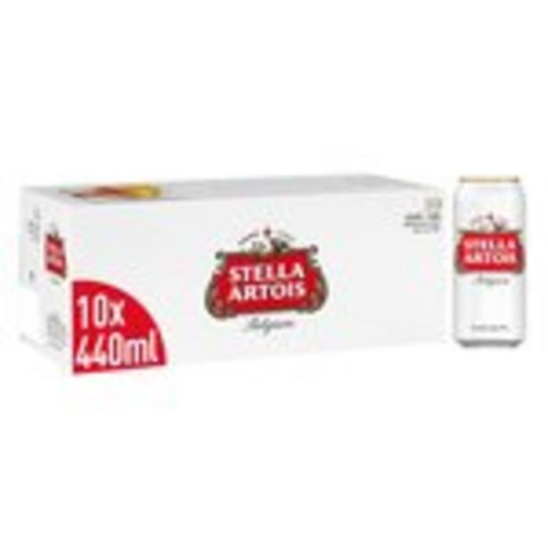 Stella Artois Premium Lager Beer Cans offer at £11