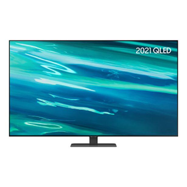 """55"""" Q80A QLED 4K HDR Smart TV (2021) offer at £899"""