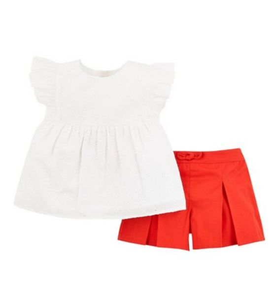 Mini Club Bows And Arrows Top And Short Set offer at £8