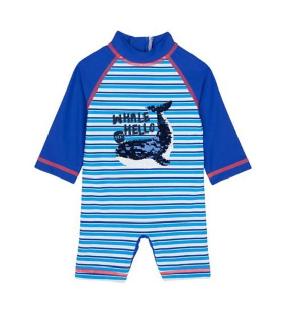 Hello Whale Reversible-Sequin Sunsafe Suit offer at £7