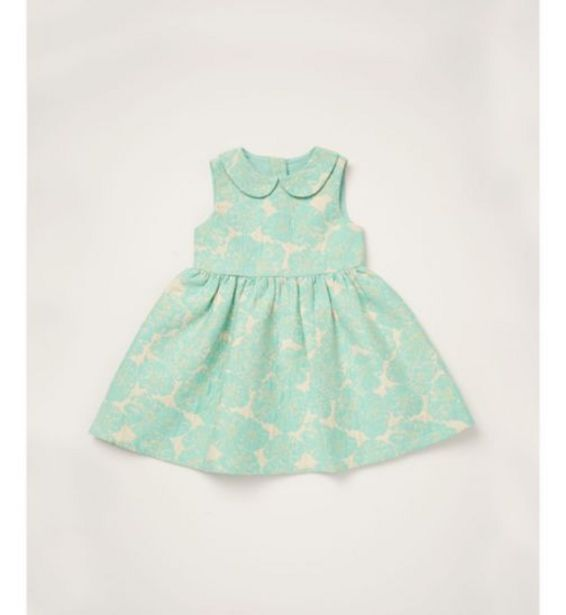 Mothercare special collection mint green peter pan collar dress offer at £11