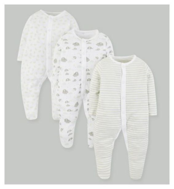 Mini Club 3 Pack Sleepsuits offer at £6.5