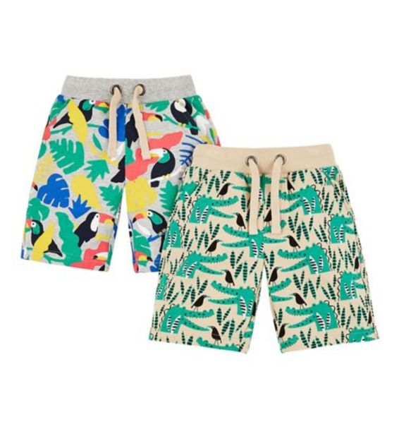 Mini Club 2 Pack Shorts offer at £5