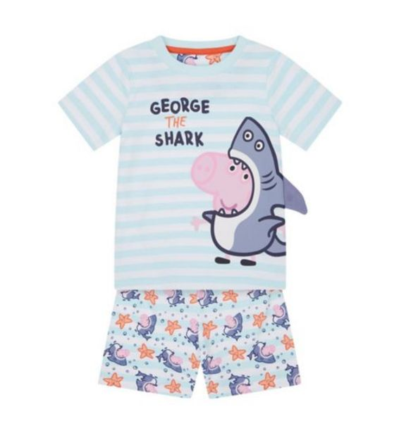 George The Shark Shortie Pyjamas offer at £6